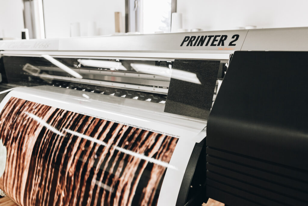 Printer Ink Vehicle Graphics