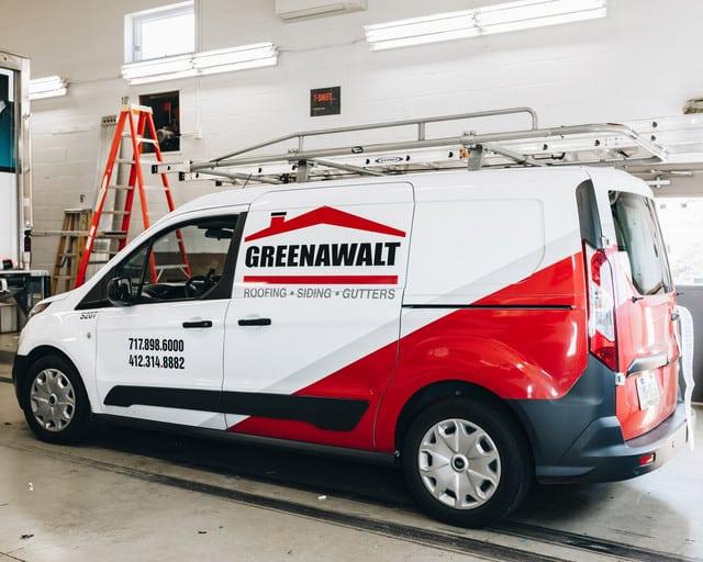 Small Van Vehicle Wraps