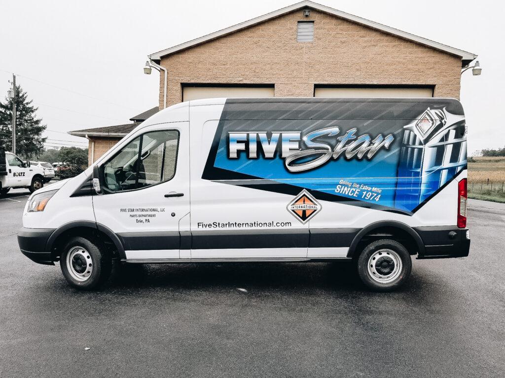 Full Size Van Wraps
