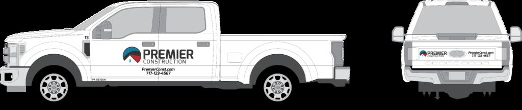 Pickup Vehicle Wraps